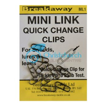 BREAKAWAY MINI LINK CLIPS ML1