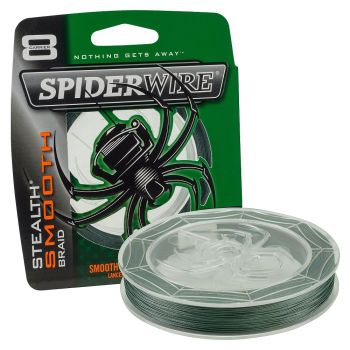 SPIDERWIRE SMOOTH 8 GREEN 300M