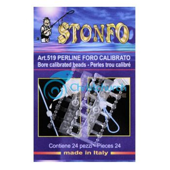 Stonfo 519 Calibrated Bore Beads