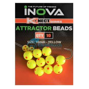 INOVA ATTRACTOR BEADS YELLOW
