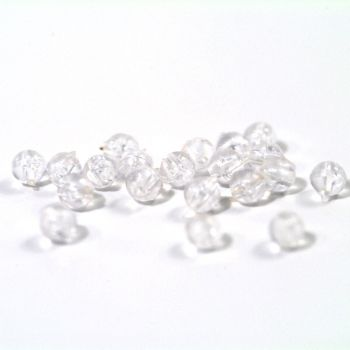 TRONIXPRO 3MM ROUND CLEAR BEAD