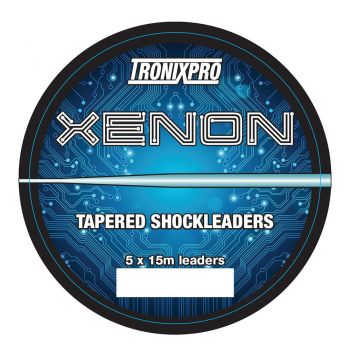 TRONIXPRO XENON TAPERED LEADERS 5 x 15m