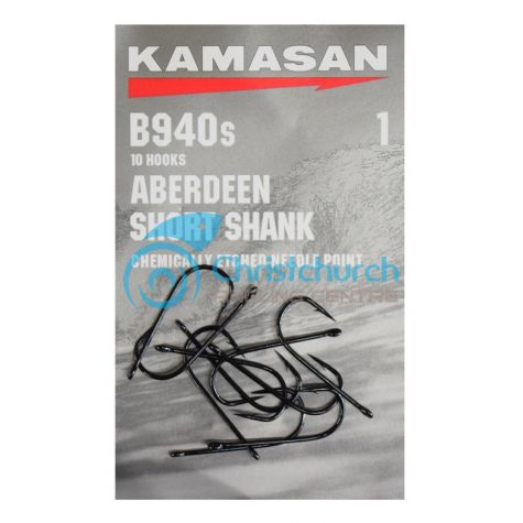 Kamasan B940S Aberdeen Short Shank