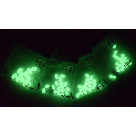 TOHO Green Luminous Beads